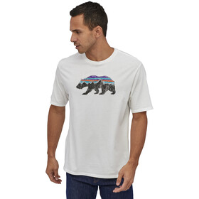 Patagonia Fitz Roy Bear Organic T-Shirt Men white